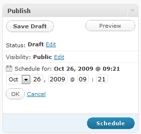 wordpress-post-scheduling