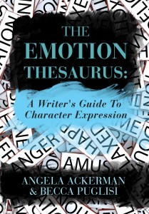 Emotional Thesaurus, thesaurus for fiction writers