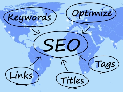 SEO involves many different things--links, titles, keywords, tags