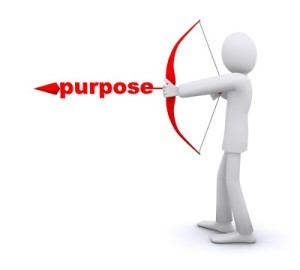 Your book's purpose gives it a reason to exist.