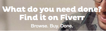 5 Ways Fiverr Can Help Your Market Your Blogged Book
