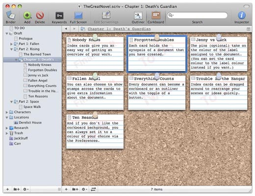 Scrivener for blogging
