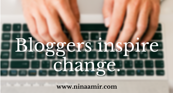 Change the World with Your Blog Posts